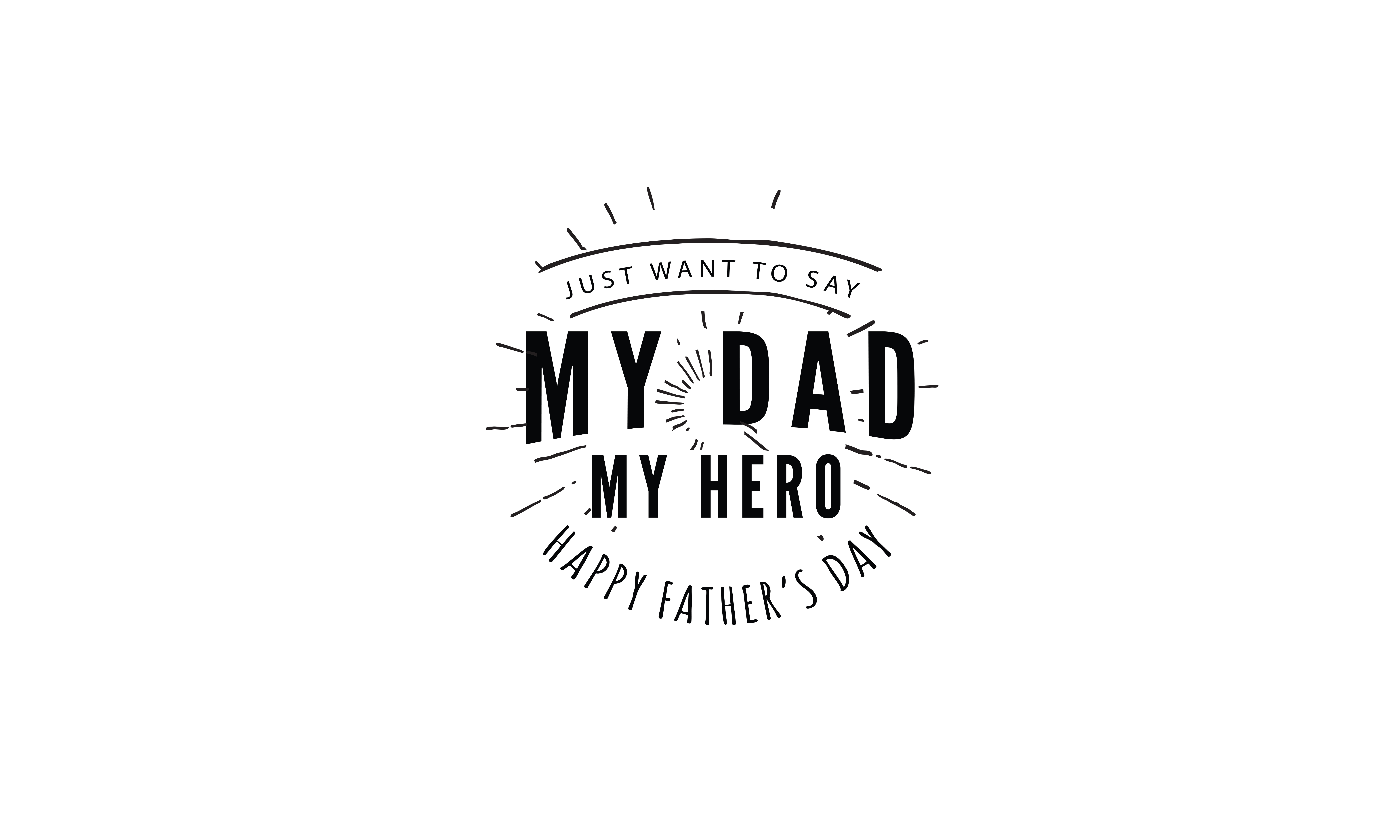 Just Want To Say My Dad My Hero Graphic By Baraeiji Creative Fabrica