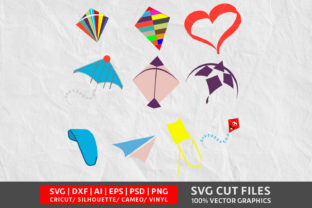 Kite SVG Graphic By Design Palace