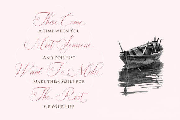 Print on Demand: Lady Suettaya Script & Handwritten Font By Sulthan Studio - Image 7