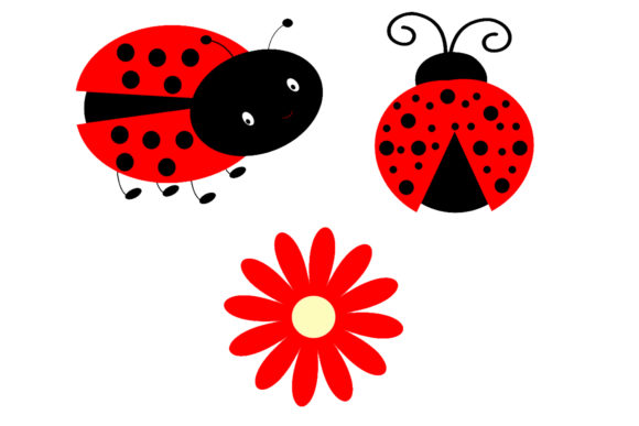 Download Free Ladybug Digital Paper Graphic By Cosmosfineart Creative Fabrica for Cricut Explore, Silhouette and other cutting machines.