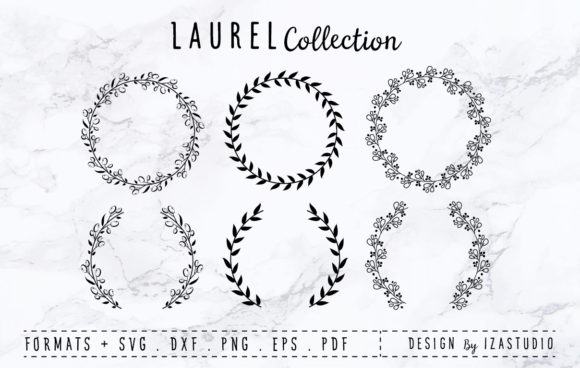 Laurel Collection Graphic By izacuite Image 1