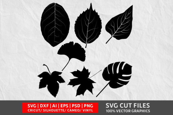 Download Free Leave Graphic By Design Palace Creative Fabrica for Cricut Explore, Silhouette and other cutting machines.