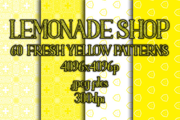 Lemonade Shop Graphic Patterns By vessto