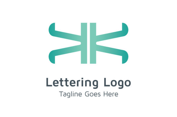 Download Free Lettering Kk Logo Grafik Von Acongraphic Creative Fabrica for Cricut Explore, Silhouette and other cutting machines.