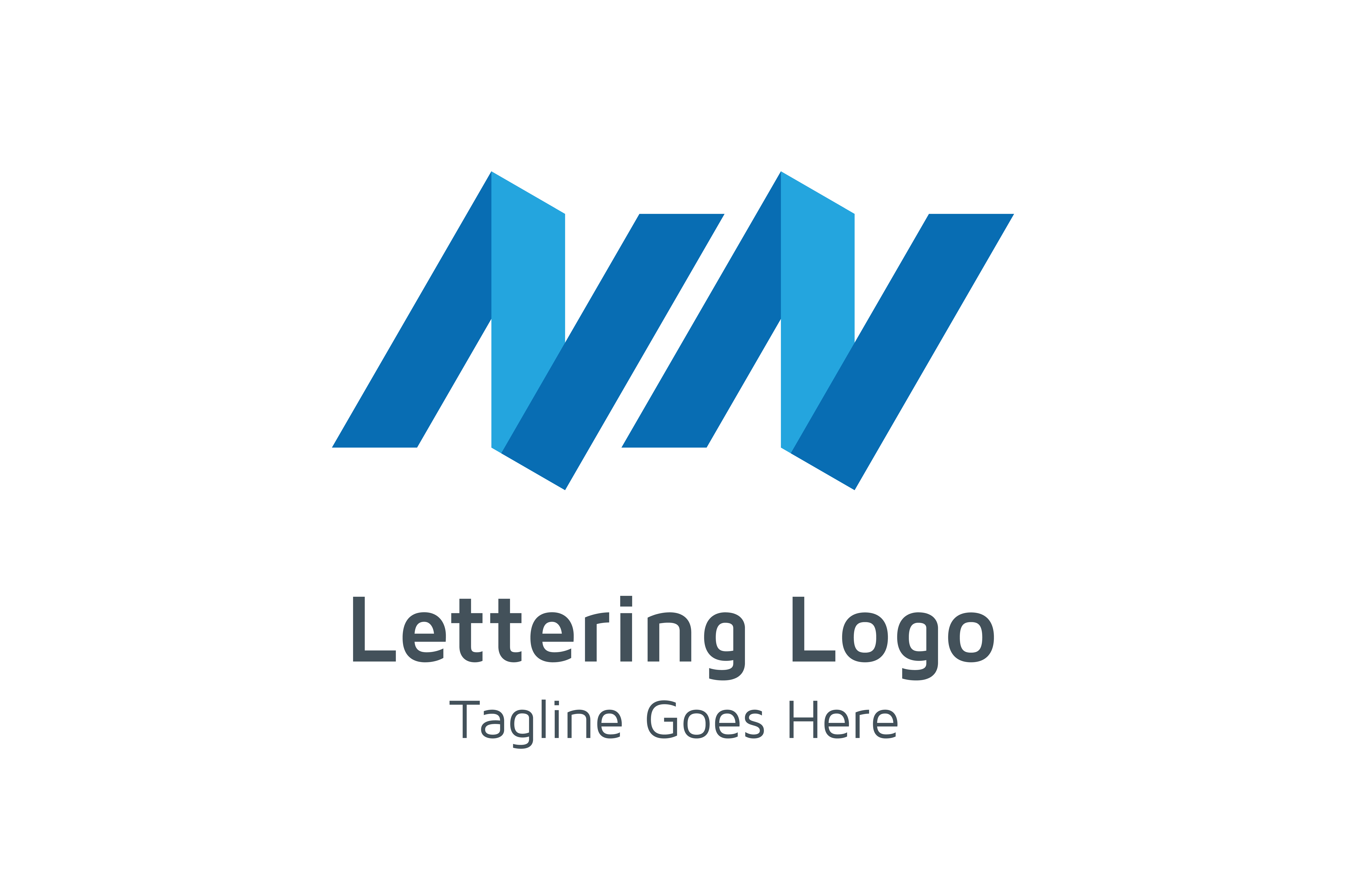 Download Free Lettering Nn Logo Grafico Por Acongraphic Creative Fabrica for Cricut Explore, Silhouette and other cutting machines.