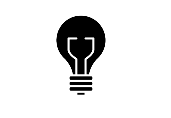 Download Free Light Bulb Icon Graphic By Back1design1 Creative Fabrica for Cricut Explore, Silhouette and other cutting machines.