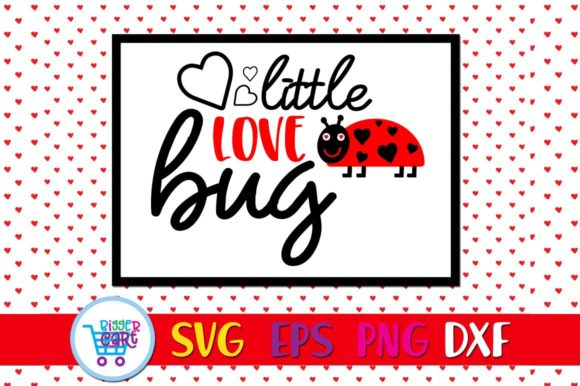Download Free Little Love Bug Svg Grafico Por Bigger Cart Creative Fabrica for Cricut Explore, Silhouette and other cutting machines.