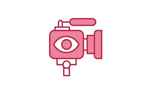 Download Free Live Streaming Icon Graphic By Back1design1 Creative Fabrica for Cricut Explore, Silhouette and other cutting machines.