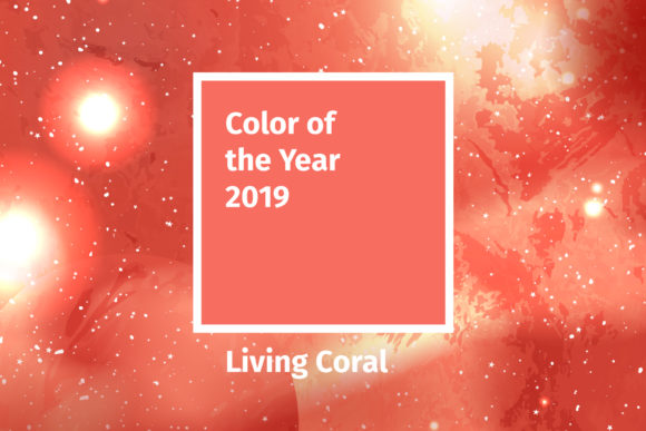 Living Coral 2019 Vector Pack Graphic By ilonitta.r Image 2