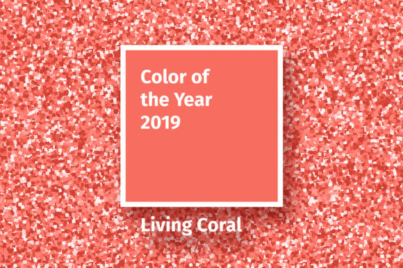 Living Coral 2019 Vector Pack Graphic By ilonitta.r Image 1