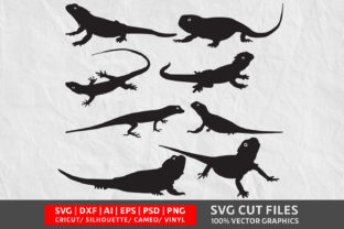 Lizard SVG Graphic By Design Palace