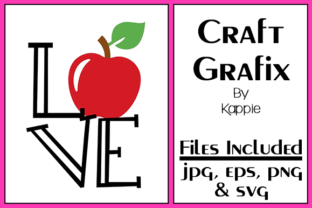 Love Apple Graphic By Grafix by Kappie