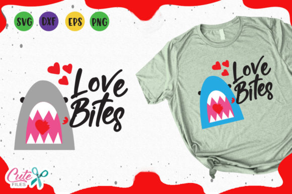 Download Free Love Bites Graphic By Cute Files Creative Fabrica for Cricut Explore, Silhouette and other cutting machines.