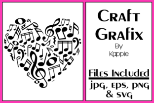 Love Music Graphic By Grafix by Kappie