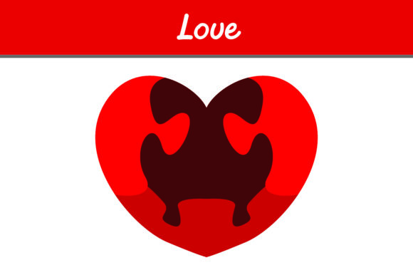 Print on Demand: Love Puzzle Graphic Icons By Arief Sapta Adjie - Image 1