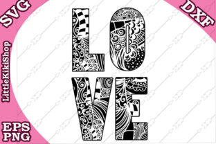 Download Free Love Graphic By Littlekikishop Creative Fabrica for Cricut Explore, Silhouette and other cutting machines.
