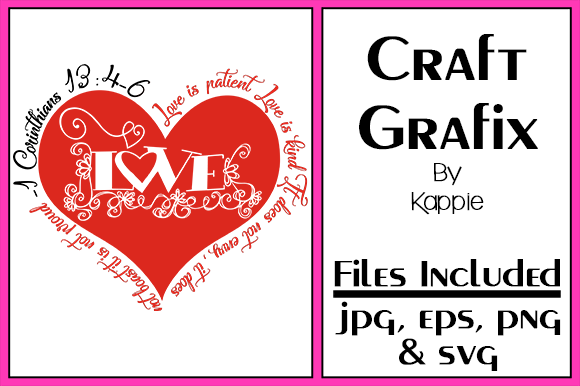 Download Free Love Is Patient Graphic By Grafix By Kappie Creative Fabrica for Cricut Explore, Silhouette and other cutting machines.
