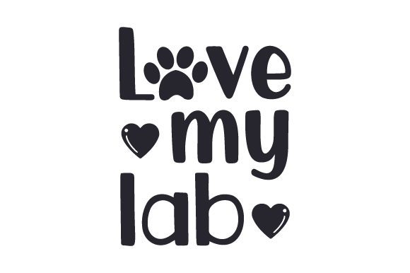 Download Free Love My Lab Svg Cut File By Creative Fabrica Crafts Creative for Cricut Explore, Silhouette and other cutting machines.