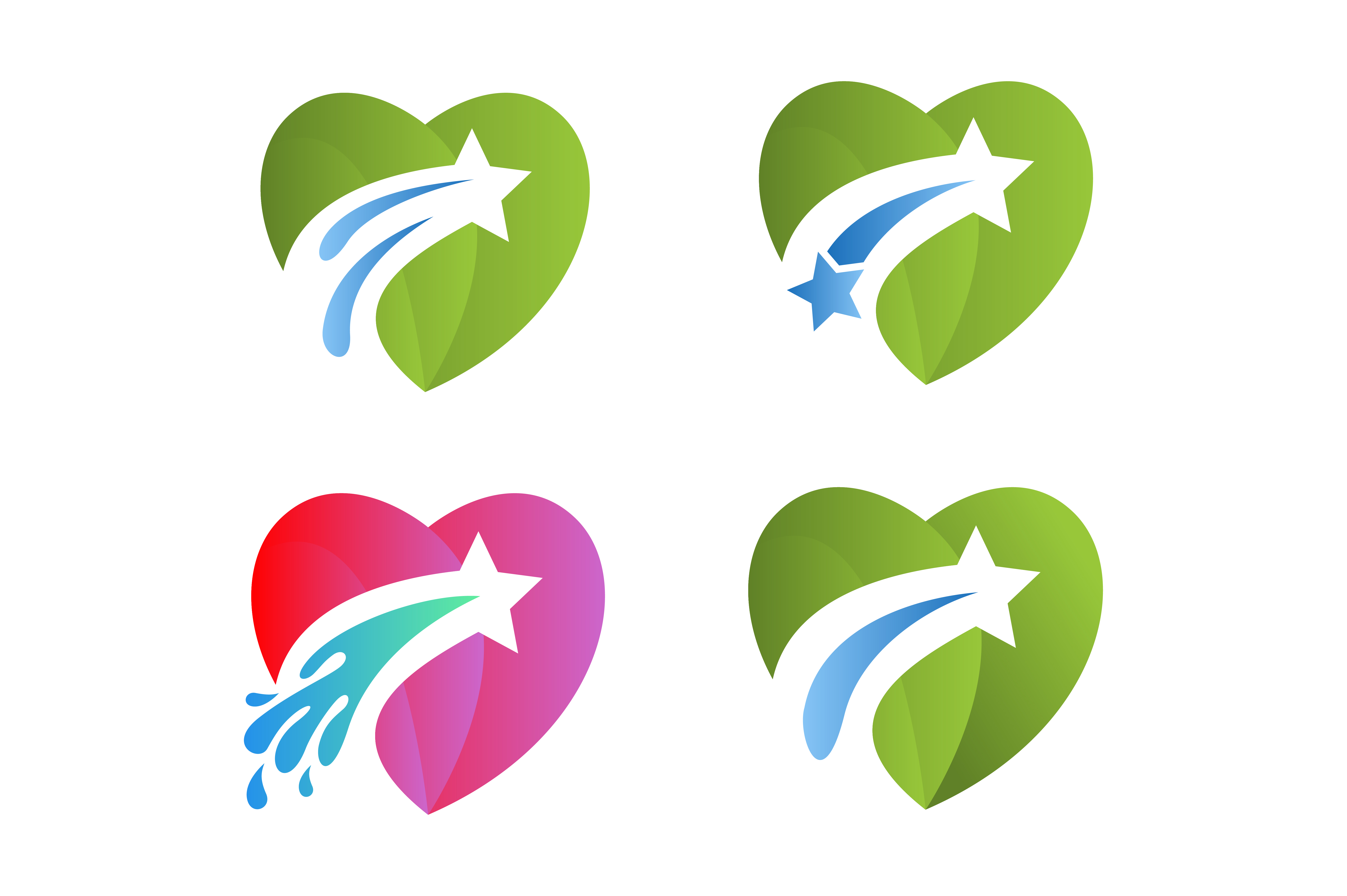 Download Free Love Star Splash Vector Logo Graphic By Hartgraphic Creative for Cricut Explore, Silhouette and other cutting machines.