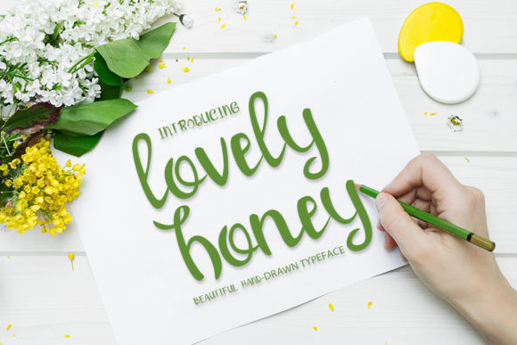 Print on Demand: Lovely Honey Script & Handwritten Font By MJB Letters - Image 1