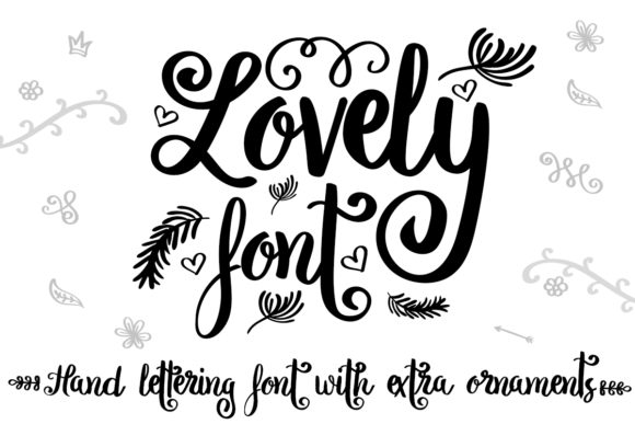 Print on Demand: Lovely Script & Handwritten Font By Illustrator Guru
