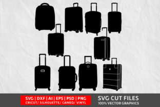 Download Free Luggage Graphic By Design Palace Creative Fabrica for Cricut Explore, Silhouette and other cutting machines.