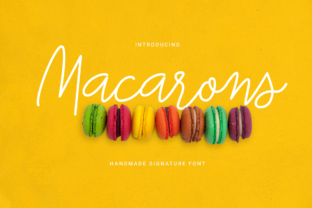 Macarons Font By LovePowerDesigns