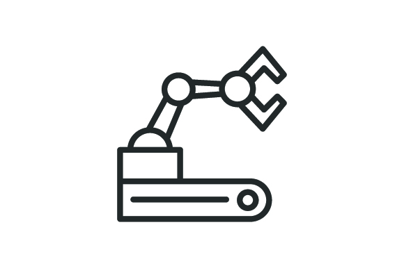 Download Free Machine Icon Graphic By Rudezstudio Creative Fabrica for Cricut Explore, Silhouette and other cutting machines.