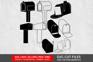 Download Free Mailbox Graphic By Design Palace Creative Fabrica for Cricut Explore, Silhouette and other cutting machines.