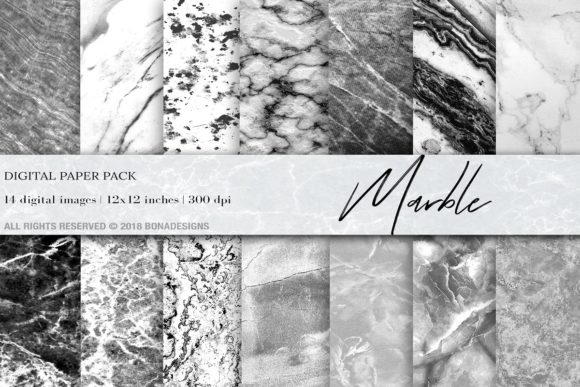 Marble Background Bundle Graphic Backgrounds By damlaakderes - Image 8