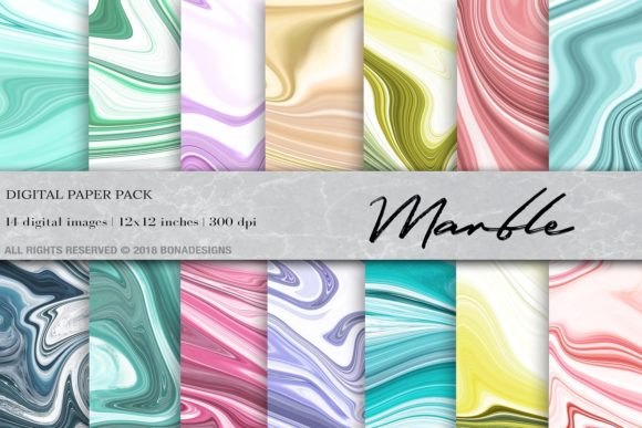 Marble Background Bundle Graphic Backgrounds By damlaakderes - Image 9
