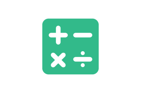 Download Free Math Icon Graphic By Zafreeloicon Creative Fabrica for Cricut Explore, Silhouette and other cutting machines.