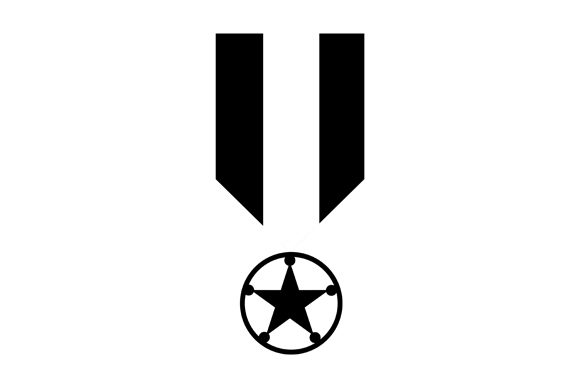 Medal Monochrome Icon  Graphic Icons By saipulkhurasan