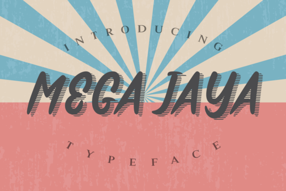 Print on Demand: Mega Jaya Script & Handwritten Font By Rifki (7ntypes)