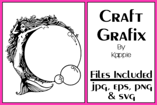 Mermaid Bubbles Graphic By Grafix by Kappie