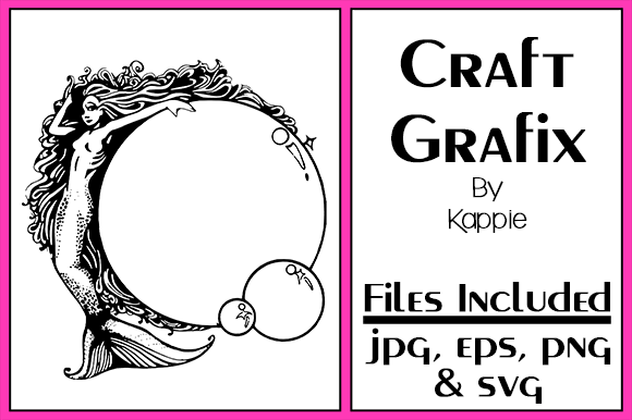 Print on Demand: Mermaid Bubbles Graphic Crafts By Grafix by Kappie