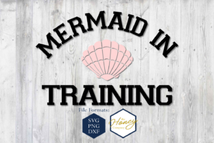 Mermaid in Training SVG Graphic By The Honey Company