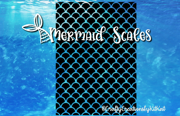 Download Free Mermaid Scales Graphic By Crafty Creations By Kitkat Creative for Cricut Explore, Silhouette and other cutting machines.