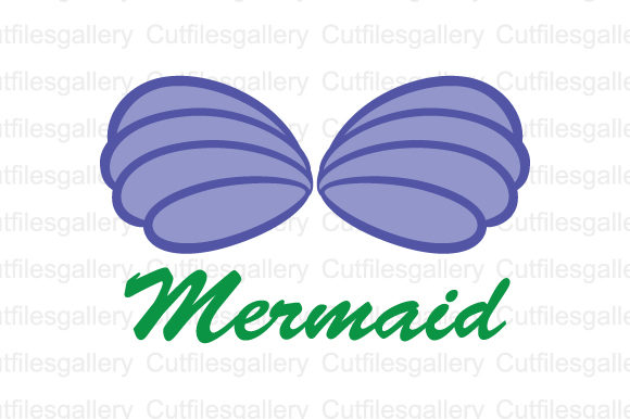 Download Free Mermaid Shell Graphic By Cutfilesgallery Creative Fabrica for Cricut Explore, Silhouette and other cutting machines.
