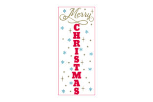 Merry Christmas Porch Signs Craft Cut File By Creative Fabrica Crafts