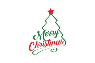 Download Free Merry Christmas Graphic By Thelucky Creative Fabrica SVG Cut Files