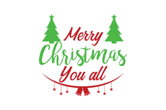 Merry Christmas You All Svg Cut Graphic By Thelucky Creative