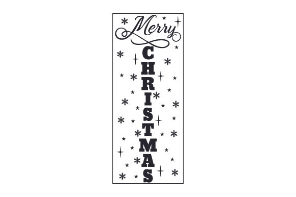 Merry Christmas Porch Signs Craft Cut File By Creative Fabrica Crafts - Image 2