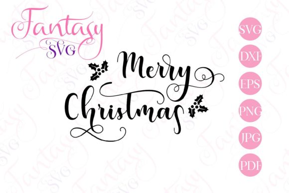 Merry Christmas Graphic By Fantasy Svg Creative Fabrica