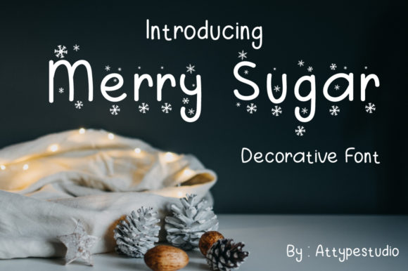 Merry Sugar Font By attypestudio Image 1