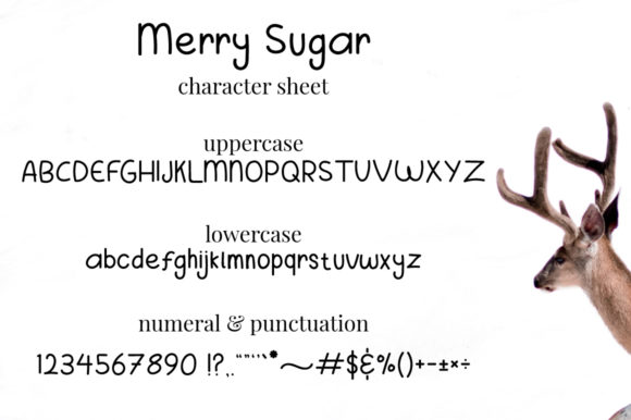 Merry Sugar Font By attypestudio Image 7