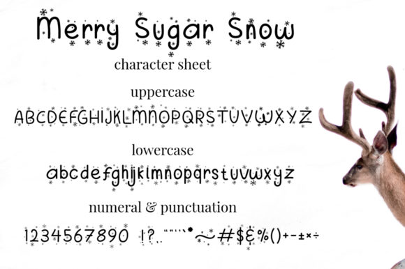 Print on Demand: Merry Sugar Decorative Font By attypestudio - Image 8