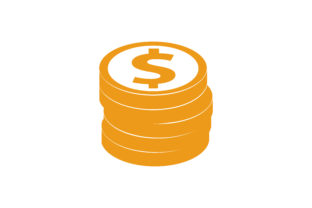 Download Free Dollar Money Icon Graphic By Zafreeloicon Creative Fabrica for Cricut Explore, Silhouette and other cutting machines.