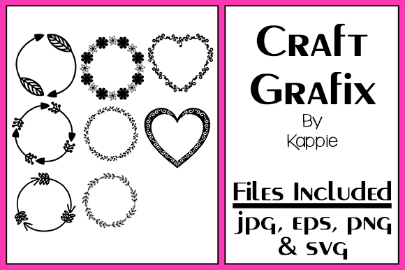 Print on Demand: Monogram Circles 4 Graphic Crafts By Grafix by Kappie