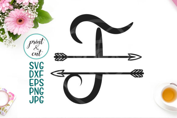 Download Free Monogram Letter T Svg File Graphic By Cornelia Creative Fabrica for Cricut Explore, Silhouette and other cutting machines.